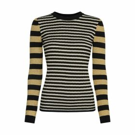Tommy X Zendaya Striped Crew Neck Jumper