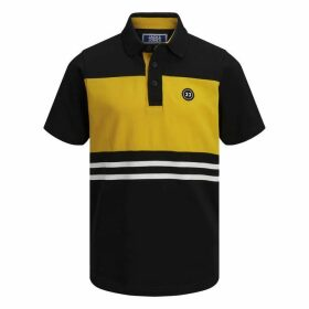 Jack and Jones Junior Colour Block Stripe POLO