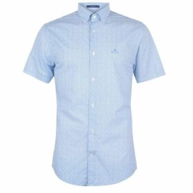 Gant Mens Short Sleeve Printed Regular Fit