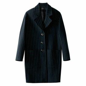 Ovoid Striped Coat