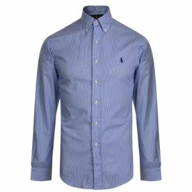 Polo Ralph Lauren Stripe Poplin Slim Fit Shirt