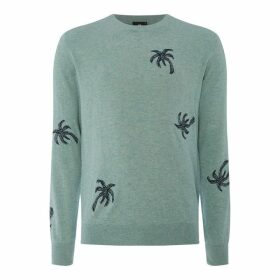 PS by Paul Smith PS Palm Crew Knit Sn92
