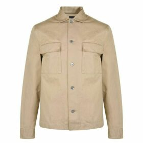 Boss Cotton Twill Overshirt