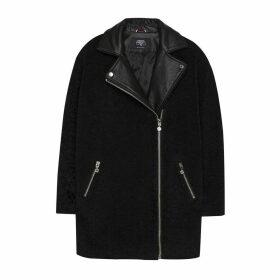 Mid-Length Asymmetric Coat