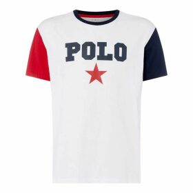 Polo Ralph Lauren Polo Slim Fit Prnt T Sn92