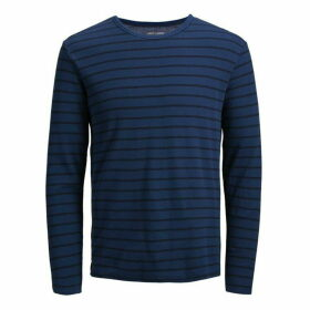 Jack and Jones Junior LS Stripe Tee