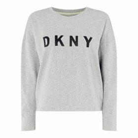 DKNY Dolman Logo POvrLd92