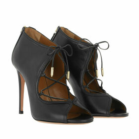 Aquazzura Sandals - Gia Sandals 105 Leather Black - black - Sandals for ladies