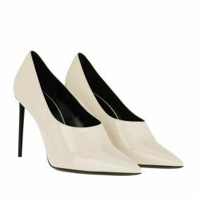 Saint Laurent Pumps - Teddy Stilettos Patent Leather Shadow Pink - beige - Pumps for ladies