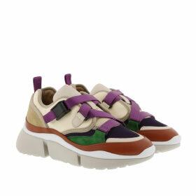 Chloé Sneakers - Sonnie Low Top Sneakers Beige - beige - Sneakers for ladies