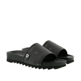 MCM Loafers & Slippers - W Visetos Slide Black - black - Loafers & Slippers for ladies