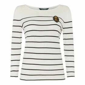 Lauren by Ralph Lauren LRL Seferya three quarter Knit Ld92