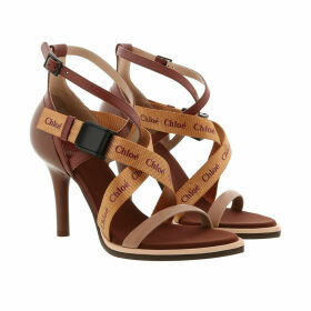 Chloé Sandals - Veronica Sandals Leather Delicate Pink - cognac - Sandals for ladies