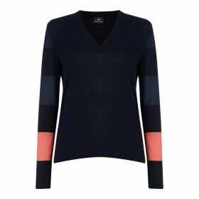 Paul Smith PS Stripe Slv Knit Ld92