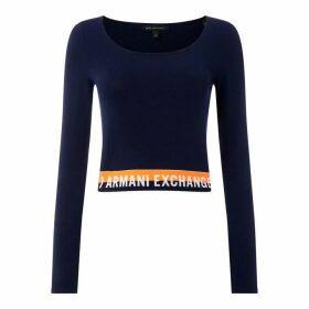 Armani Exchange AX Prl Logo Jmpr Ld92