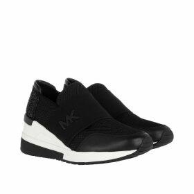 Michael Kors Sneakers - Felix Trainer Mesh Sneaker Black - black - Sneakers for ladies