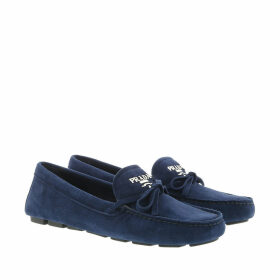 Prada Loafers & Slippers - Mocassini Driver Oltremare - blue - Loafers & Slippers for ladies