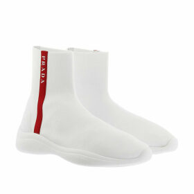 Prada Sneakers - Knitted Sock Sneakers Bianco - white - Sneakers for ladies
