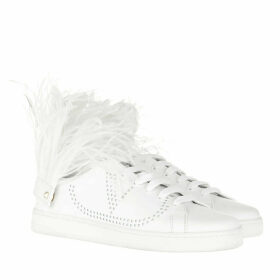 Valentino Sneakers - V Sneakers With Feathers White - white - Sneakers for ladies
