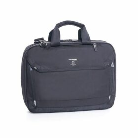 Hedgren Black Slim 3-Way Briefcase