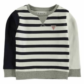 Guess Stripe Logo Sweater