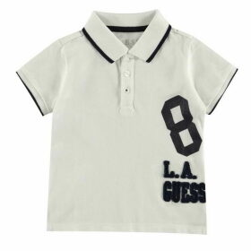 Guess 8 Logo Short Sleeve Polo Shirt