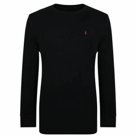 POLO RALPH LAUREN BODYWEAR Long Sleeved Waffle Sleep Sweatshirt