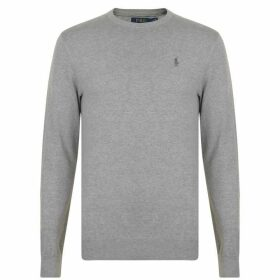 POLO RALPH LAUREN Pima Crew Neck Sweatshirt