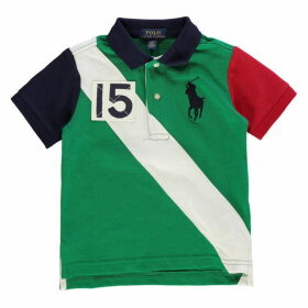 Polo Ralph Lauren Big Logo Sash Polo Shirt