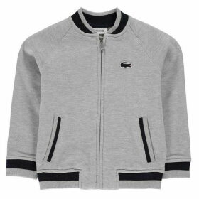 Lacoste Zip Up Bomber Sweater
