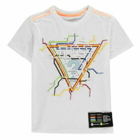 Guess Tube Map T Shirt