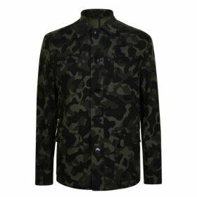 HUGO Camoflage Button Jacket