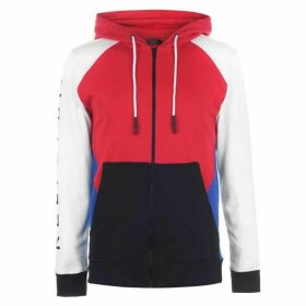 Religion Mens Colour Block Zip Hoodie