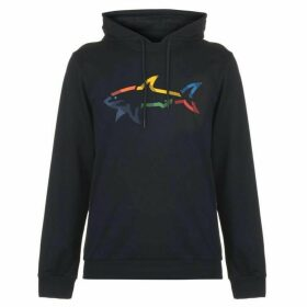 Paul And Shark Multi-Colour Shark Hoodie Men's