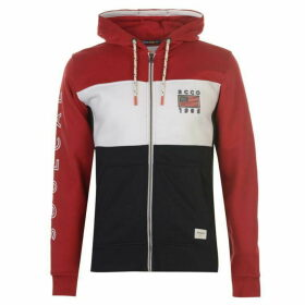 SoulCal Deluxe Red White Blue Hoodie