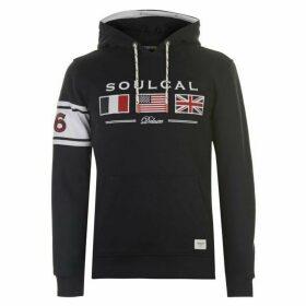 SoulCal Flag Hoodie Mens