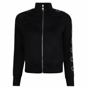 Karl Lagerfeld Zipped Hooded Sweatshirt