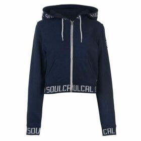 SoulCal Crop Branded Hoodie