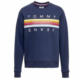 Tommy Jeans Rainbow Tape Sweatshirt