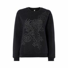 Maison De Nimes Lazer Cut Sweatshirt