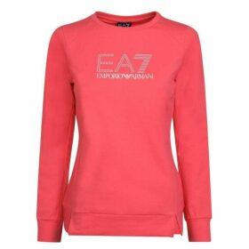 EA7 Stud Crew Neck Sweatshirt