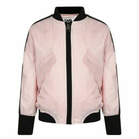 Karl Lagerfeld Klub Bomber Jacket