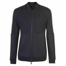 Armani Exchange Armani Pinstripe Track Jacket Mens