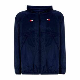 Tommy Sport Tommy Mens Back Print Windbreaker Jacket