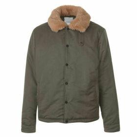 New County Faux Fur Coach Jacket