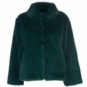 Story of Lola Boxy Teddy Faux Fur Coat