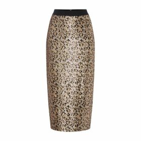 Biba Animal Sequin Skirt
