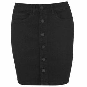Noisy May Noisy Lucy Button Mini Skirt