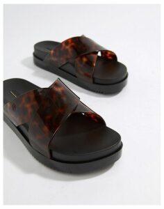 Melissa Flatform Sandals-Black