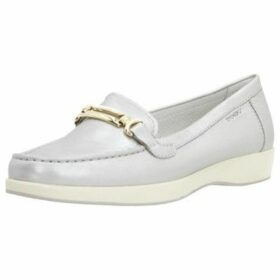 Stonefly  106165  women's Loafers / Casual Shoes in Silver